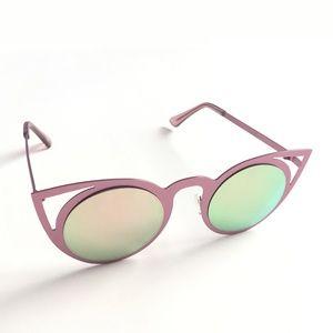 NWOT Ban.do Metal Cat Eye Sunglasses